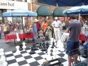 "Chess ""on the street"""