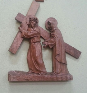 Fourth Station - Jesus meets his mother