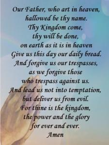 LOrd, teach us to pray ....
