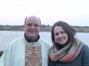 Following Mass at Urlaur Abbey